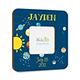 Space Photo Picture Frame for Kids Bedroom Baby Nursery Solar System Custom Photo Frame,