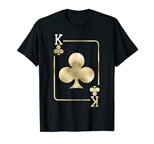King of Clubs Playing Card Halloween Costume Glam ()