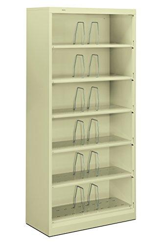 nt Filing Cabinet - Brigade 600 Series Metal Shelf File, 16.75