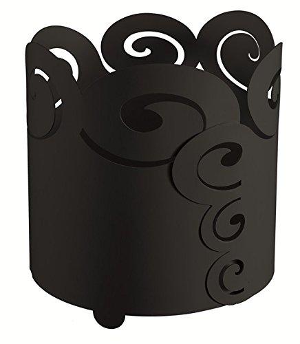 Cache Pot aus Eisen Große Locken