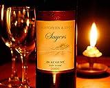 Wine Bottle Personalized Print
