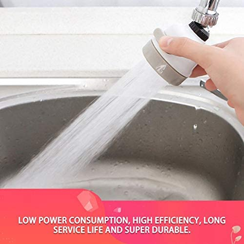 ouying1418 Kitchen Tap Head 360 Degree Rotatable Faucet Water Saving Filter Sprayer