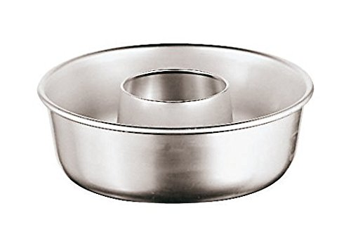 Paderno World Cuisine 47060-16 Aluminum Savarin Mold, Gray (Aluminum Ring Mold)