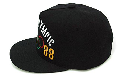 9b7fcc70754 Muan 1988 Seoul Olympic Snapback Hat G-dragon   Taeyang Good Boy Cap ...