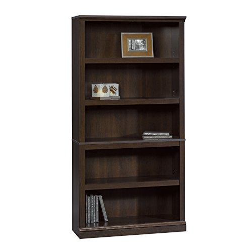 Sauder Bookcase, Cinnamon Cherry Finish (Bookcase Tv Space With)