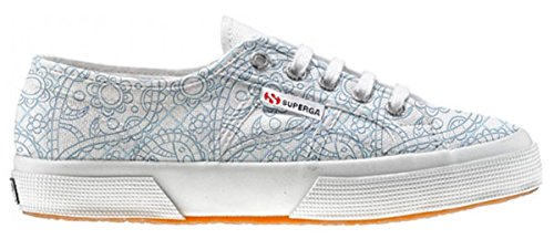 Superga Customized zapatos personalizados Sky Paisley (Zapatos Artesano)
