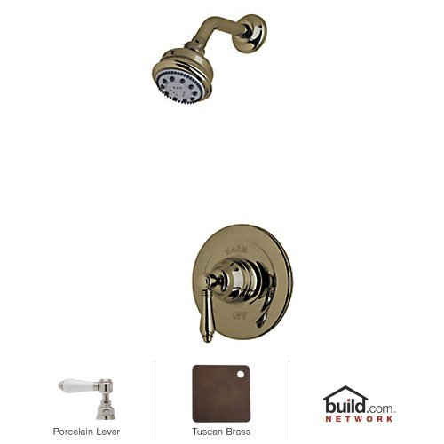 Rohl AKIT21LP-TCB A2912Xmtcbto Country Bath Pressure Balance Shower Package, Tuscan ()