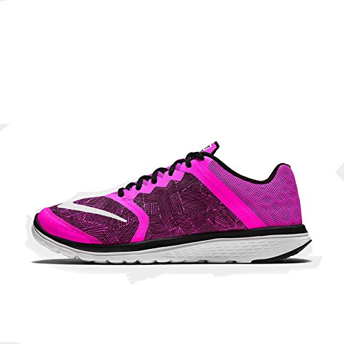 6b530bbb20d2 well-wreapped Nike Women s FS Lite Run 3 Print Running Shoes-Pink Blast