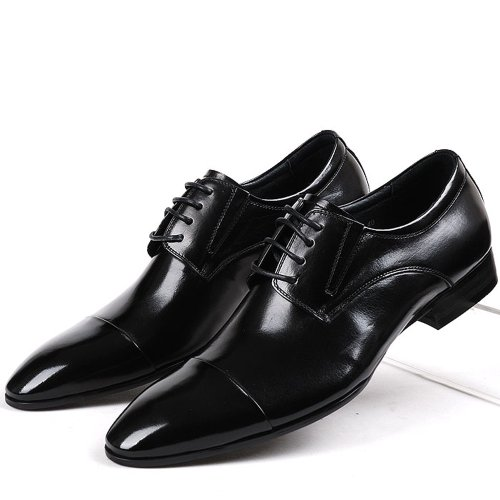Shopping Product  Q Mens Dress Shoes Brown Leather