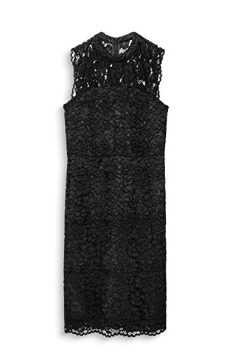 Kleid 001 Schwarz Damen Collection ESPRIT Black EtxwC8qYYn