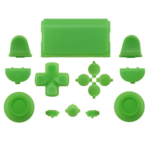 ps4 controller touchpad green - 3
