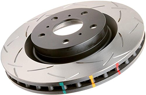 4000 Series Slotted Disc Brake Rotor Front DBA 4784S