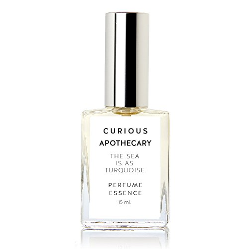 Curious Apothecary The Sea is as Turquoise Sweet Coconut perfume for women. Tropical hawaii beach women