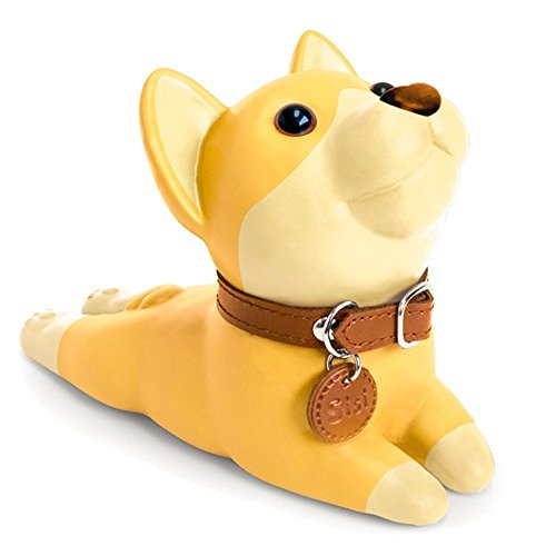 Cute Dog Door Stop, Decorative Door Stopper Wedge Bull Terrier Gift Doorstop for Christmas Decoration by DomeStar (Corgi) by Pindia (Image #4)