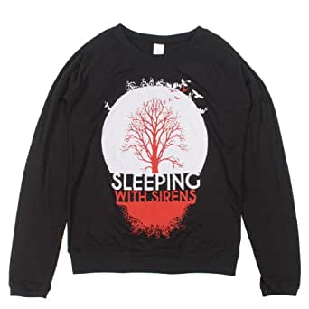 Sleeping With Sirens Tree Girls Pullover Top Size : X-Small