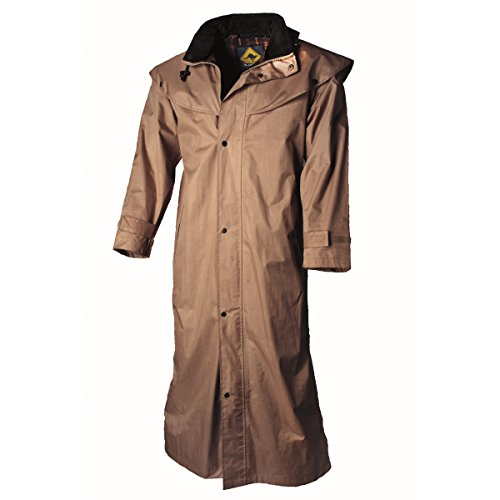 Stockman Coat Rain Brown Wear Scippis Signori 5x14wqnTgE