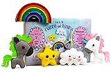 Madam Posy Design Sewing KIT for Kids: DIY Crafts Unicorns Stuffed Animal Sewing Crafts Kit for Girls Boys Kids Age 6-12