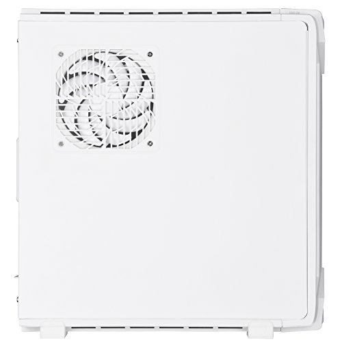 SilverStone Technology Slim min-ITX Computer Case with RGB Lighting in White SST-RVZ03W Cases by SilverStone Technology (Image #4)