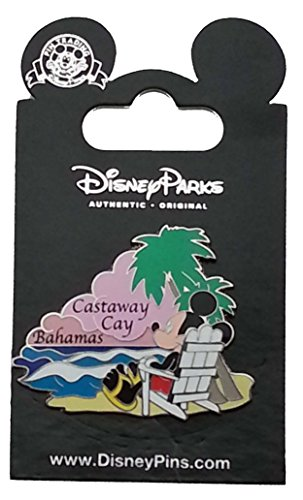 Disney Pin - Mickey at Castaway Cay