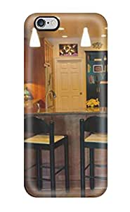 Hard Plastic Iphone 6 Plus Case Back Cover,hot Contemporary Kitchen And Breakfast Bar Case At Perfect Diy(3D PC Soft Case)