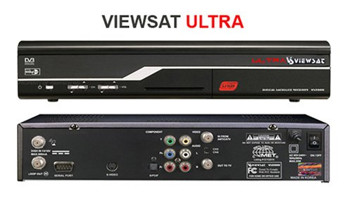 Viewsat VS2000 Ultra Free-to-Air Satellite Receiver