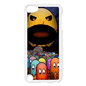 Ipod Touch 5 2D Personalized Hard Back Durable Phone Case with smiling face Image