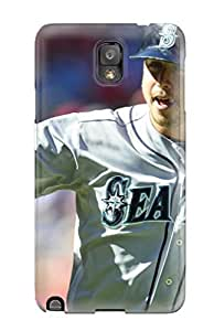 Galaxy Note 3 LBaKkrv1360hsAKt Seattle Mariners Tpu Silicone Gel Case Cover. Fits Galaxy Note 3 by kobestar