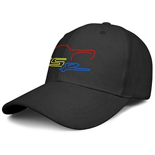 Mens Women's Washing Cotton Baseball Hat Styles Black Chevy-SSR-Neon-Sign- Luxury Mesh Cap