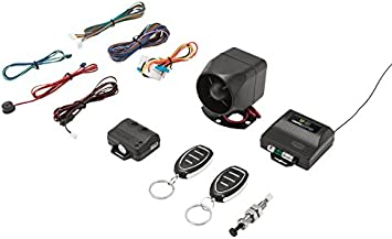 Crimestopper SP-102 Deluxe 1-Way Car Alarm /& Keyless Entry System with Remote