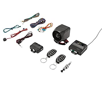 Crimestopper SP-202 SecurityPlus 1-Way Deluxe Alarm/Keyless Entry System Crimestopper Security Products Inc SP202