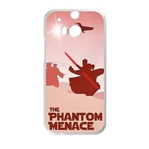 HTC One M8 Cell Phone Case White The Phantom Menace JSK874054