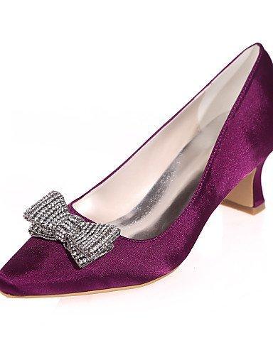 4in Argent Violet Chaussures ShangYi amp; Carré Mariage Blanc white 2in Bleu Ivoire Soirée Rouge mariage de Bout 3 Champagne Noir Evénement 2 x4nnXRF