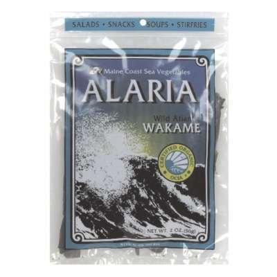 MAINE COAST Organic Alaria Wild Atlantic Wakame, 2 OZ (Wakame Sea Vegetable)
