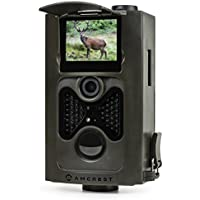 Amcrest ATC-801 720P HD Game and Trail Hunting Camera - 8MP Dynamic Capture, Integrated 2 LCD Screen, High-Sensitivity Motion Detection w/ Infrared LED Night Vision 65ft (Certified Refurbished)