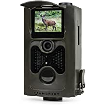 "Amcrest ATC-801 720P HD Game and Trail Hunting Camera - 8MP Dynamic Capture, Integrated 2"" LCD Screen, High-Sensitivity Motion Detection w/ Infrared LED Night Vision 65ft (Certified Refurbished)"