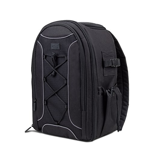 Propel RC Sky Rider Carrying Backpack with Water Resistant Design and Padded Shoulder Straps by USA Gear - Pockets Hold Propellers , Batteries , Controller and More Quadcopter Accessories by USA Gear