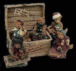 10th Anniversary Figurine (Boyds Bears Tenth Anniversary of Bearstones Retired 02003-71)