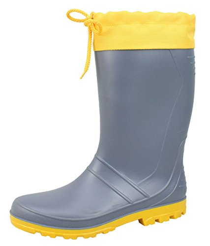 Men boots Rubber AXEL Sizes Grey High 47 Yellow 36 quality BOCKSTIEGEL® 76Pqw5nxBP