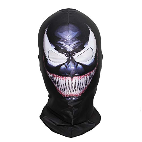 Spiderman Overhead Mask Halloween Costume Cosplay Adult Teens (Venom) -