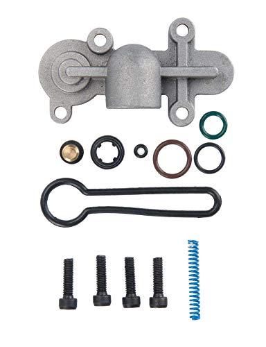 Blue Spring Upgrade Kit Fuel Pressure Regulator Kit for Ford 2003-2007 6.0L Powerstroke Ford F250 F350 F450 F550, OEM 3C3Z-9T517-AG ()