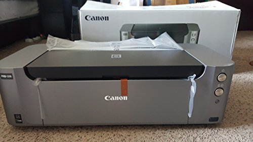 "Canon PIXMA PRO-100 Professional Photo Inkjet Printer - Bundle - with SG-201 Photo Paper Plus Semi-Gloss 13x19"" 50 Sheets"