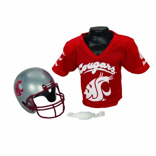Franklin Sports NCAA Washington State Cougars Helmet and Jersey Set (Washington Jersey Cycling State)