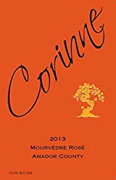2013 Corinne Mourvedre Rose Amador County California 750 mL