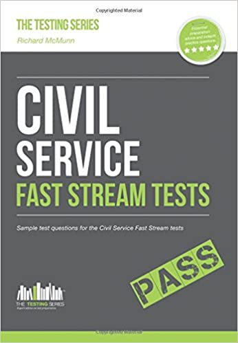 Amazon Com Civil Service Fast Streams Tests Sample Test Questions For The Civil Service Fast Stream Tests 9781910602027 How2become Books