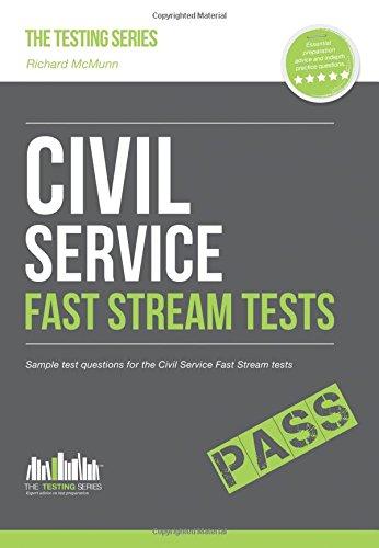 Civil Service Fast Streams Tests: Sample test questions for the Civil Service Fast Stream Tests (Testing Series) pdf epub