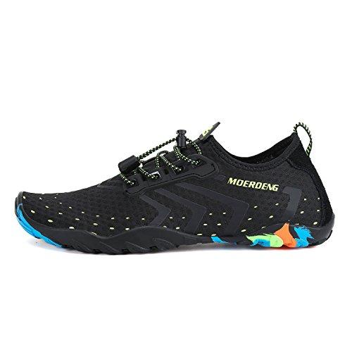 MOERDENG Men Women Water Shoes Quick Dry Barefoot Aqua Socks Swim Shoes for Pool Beach Walking Running by MOERDENG (Image #2)