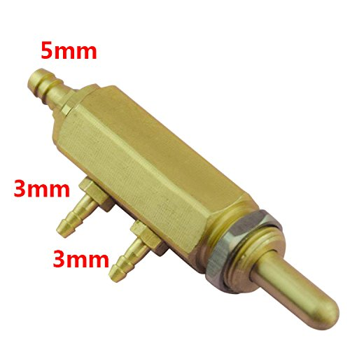 Superdental Chair Unit 4 Holes foot valve Circular Pedal Switch Valve 3MM3MM3MM