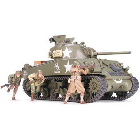 Tamiya America, Inc 1/35 M4A3 Sherman 75mm, TAM35250