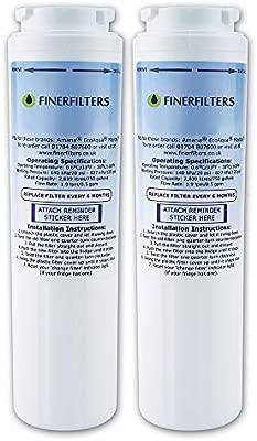 Finerfilters UKF8001 - Filtro de agua compatible con Amana Maytag ...