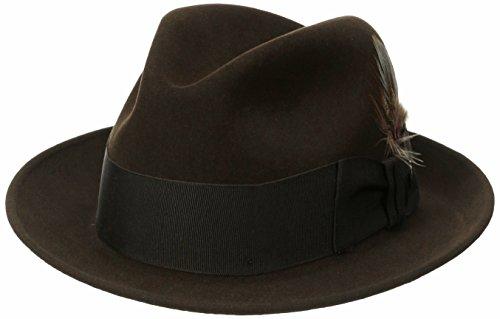 Stetson Men s Sttson Temple Royal Deluxe Fur Felt Hat - Buy Online ... 97f66dcd21f7